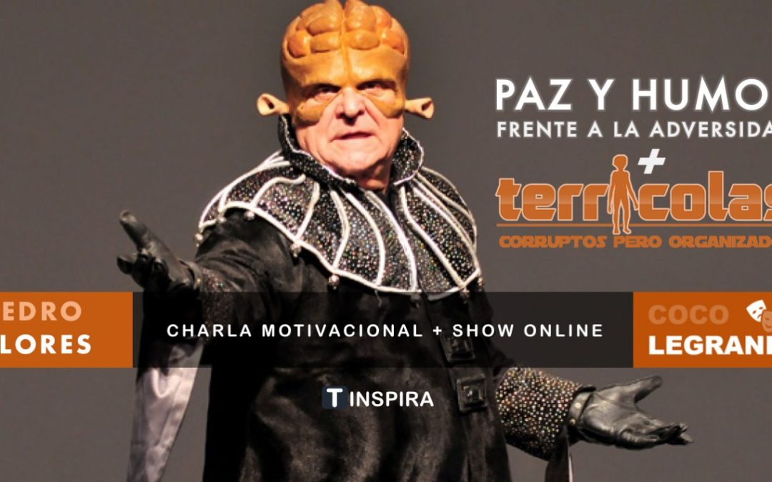 Charla más show online TERRÍCOLAS con Coco Legrand